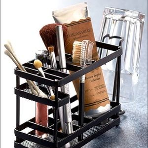 NWT! Rustic Vanity Organizer - Home Decor - Gift